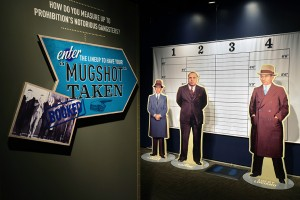 Guests who visit the exhibition can deliver – much like Billy Sunday – a temperance speech at a recreated church. They can also see how they measure up against the era's most notorious gangsters.