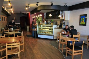 Blackbird is an inviting coffeehouse in downtown Valparaiso.