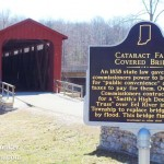 Cataract Falls in Cataract, Indiana