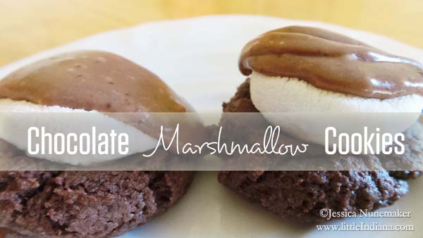 Chocolate Marshmallow Cookies Recipe