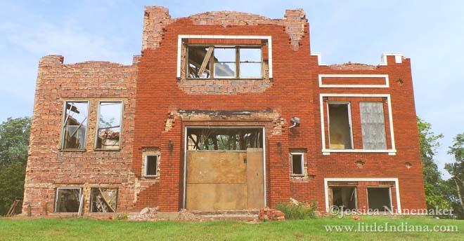 Hanging Grove Township School in Rensselaer, Indiana