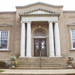 Carnegie Library in Attica, Indiana Exterior