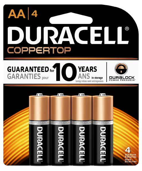 Duracell CopperTop Batteries