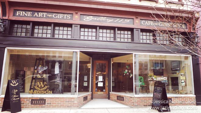 Gallery 115 in Madison, Indiana Exterior