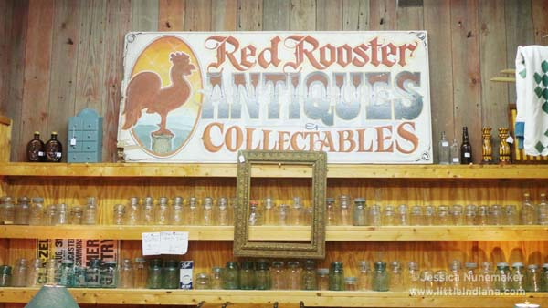 Log Cabin Antiques in Roann, Indiana