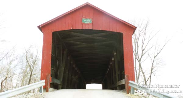 Oakalla Covered Bridge in Greencastle, Indiana