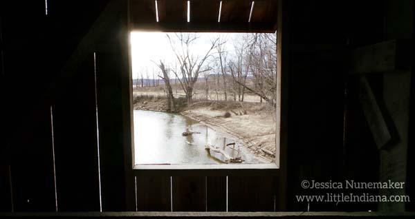 Oakalla Covered Bridge in Greencastle, Indiana