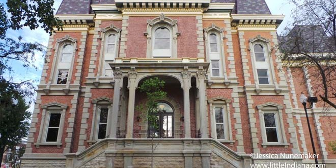 Wordless Wednesday: Randolph County Courthouse in Winchester