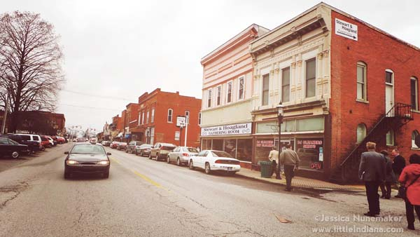 Downtown Scottsburg, Indiana