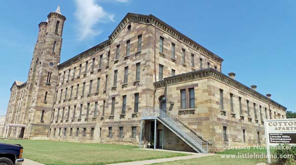 Indiana Cotton Mill in Cannelton, Indiana