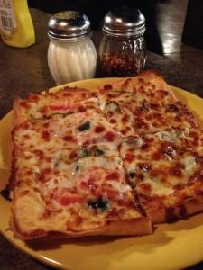 Pizza at Cappo's in Portage, Indiana