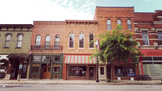 Downtown Winchester Indiana