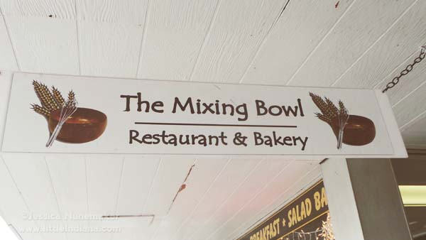 The Mixing Bowl Restaurant and Cafe in Martinsville, Indiana