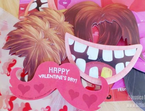 Peaceable Kingdom Moustache Valentines