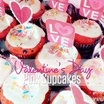 Valentine's Day Pink Cupcakes Recipe