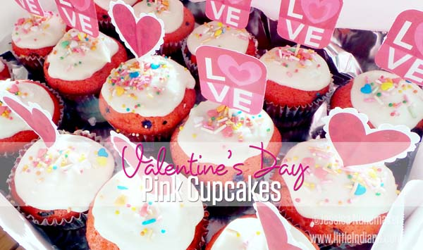 valentines day pink cupcakes recipe