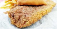 The Viking in Monon, Indiana Pork Tenderloin Sandwich