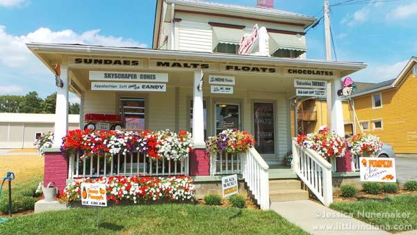 Emery's Ice Cream in Corydon, Indiana