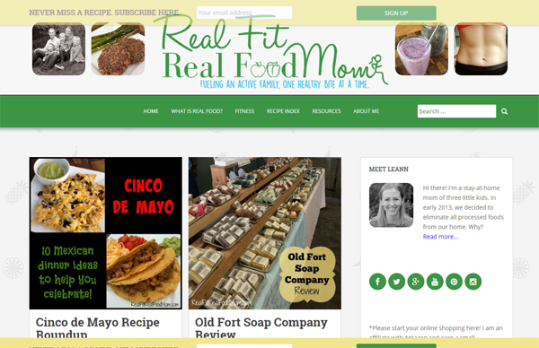 Indiana Blog: Real Fit Real Food Mom