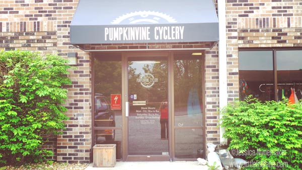 Pumpinvine Cyclery in Middlebury, Indiana Exterior