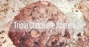Triple Chocolate Scones Recipe
