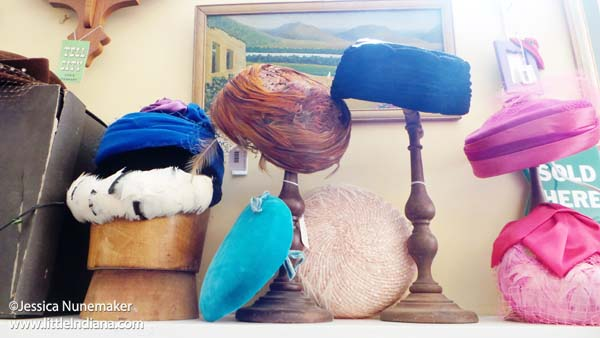 William Tell Antiques in Tell City, Indiana Vintage Hats