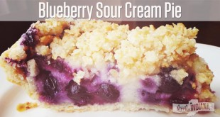 Blueberry Sour Cream Pie Recipe