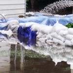 Homes Trying to Stay Dry During Flooding in Rensselaer, Indiana