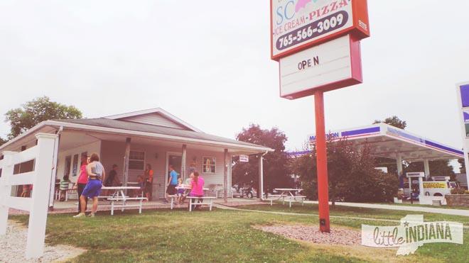 The Burlington Scoop in Burlington, Indiana Exterior