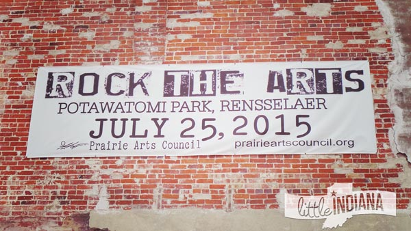Rock the Arts Festival in Rensselaer, Indiana