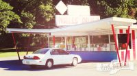 Walls' Drive In in Cannelton, Indiana Exterior