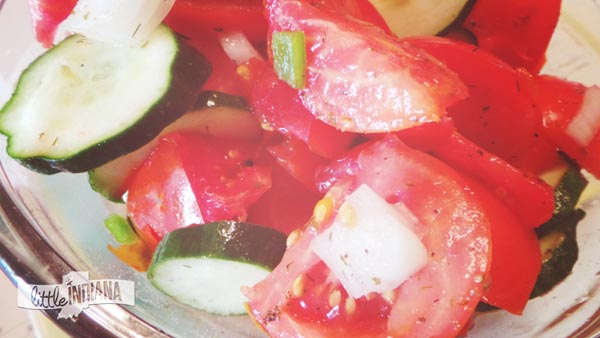 Fire and Ice Tomato Salad Recipe