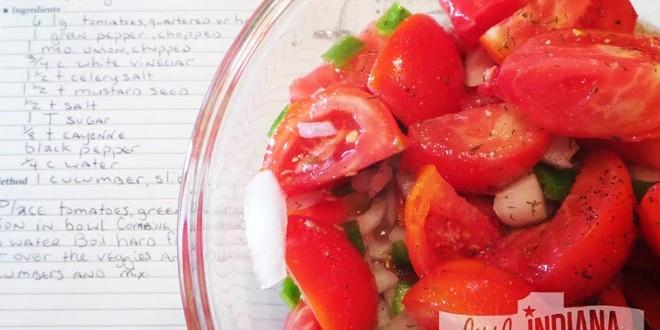 Fire and Ice Tomato Salad Recipe