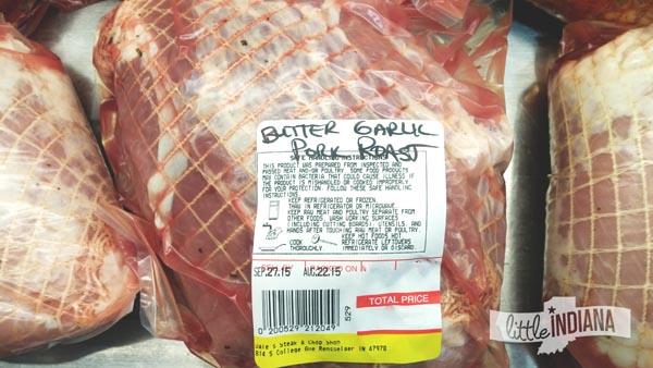 Butter Garlic Pork Roast at Dale's Steak and Chop in Rensselaer, Indiana