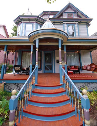 Heavlin House: Vivacious Victorian Remodeling Blog -- Image Provided