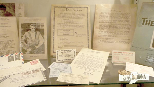 James Dean Fan Club Memorabilia