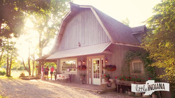 Willowfield Lavender Farm in Mooresville, Indiana the Retail Barn