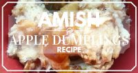 Amish Apple Dumplings Recipe