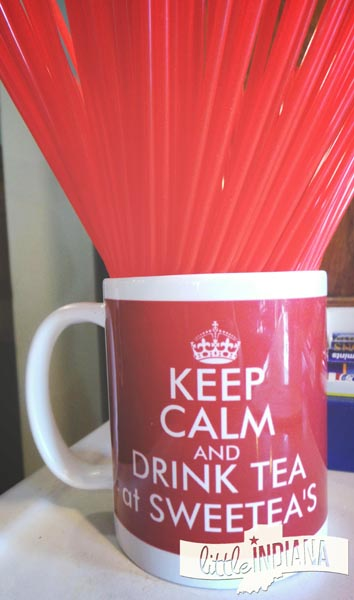 Sweetea's Tea Shop in Nashville, Indiana: Keep Calm and Drink Tea at Sweetea's!