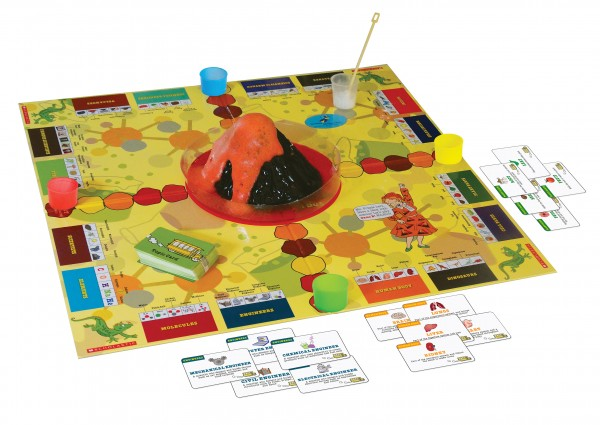 Young Scientists Club Magic School Bus Board Game