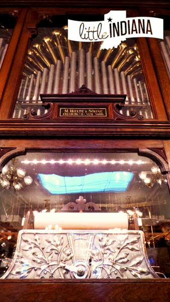 Zaharakos Ice Cream Parlor Museum in Columbus, Indiana Welte Orchestrion