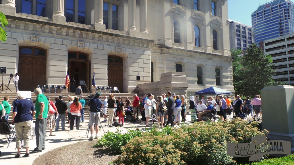 Indiana Bicentennial Torch Relay 2016: Before the Reveal
