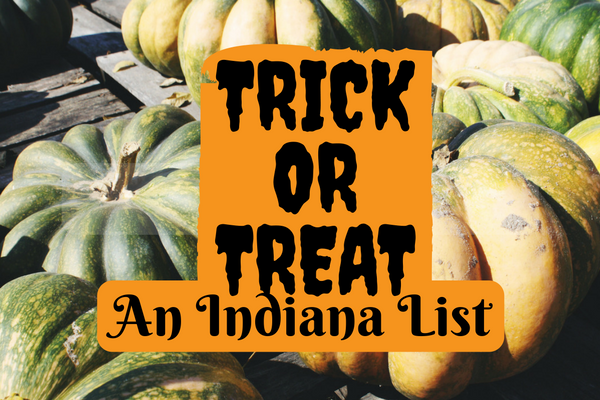 Big list of Indiana trick or treat times 2016