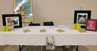 Jessica Nunemaker Signs Books at Indy Author Fair