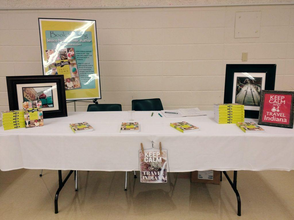 Jessica Nunemaker Signs Books at Indy Author Fair