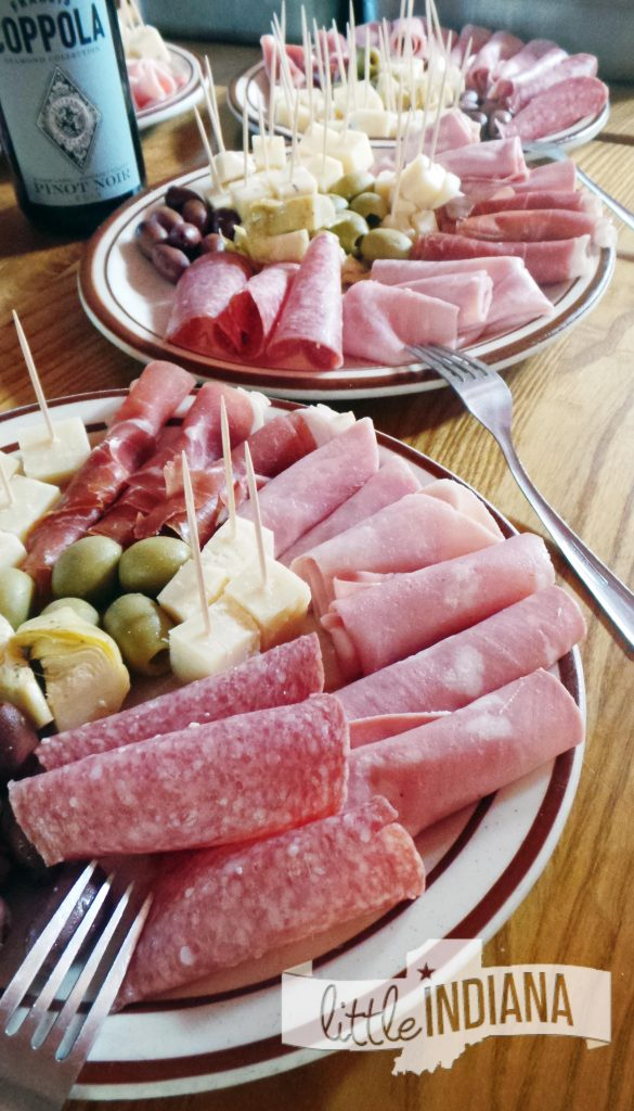 Antipasti Platters Perillos Pizzeria North Salem Indiana