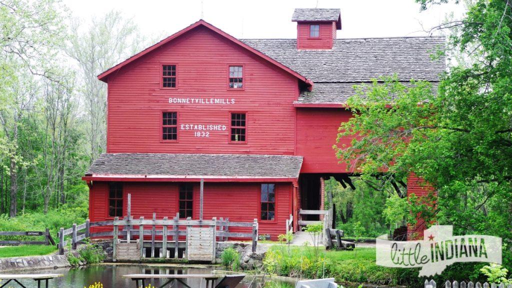 Bonneyville Mill Bristol Indiana Exterior