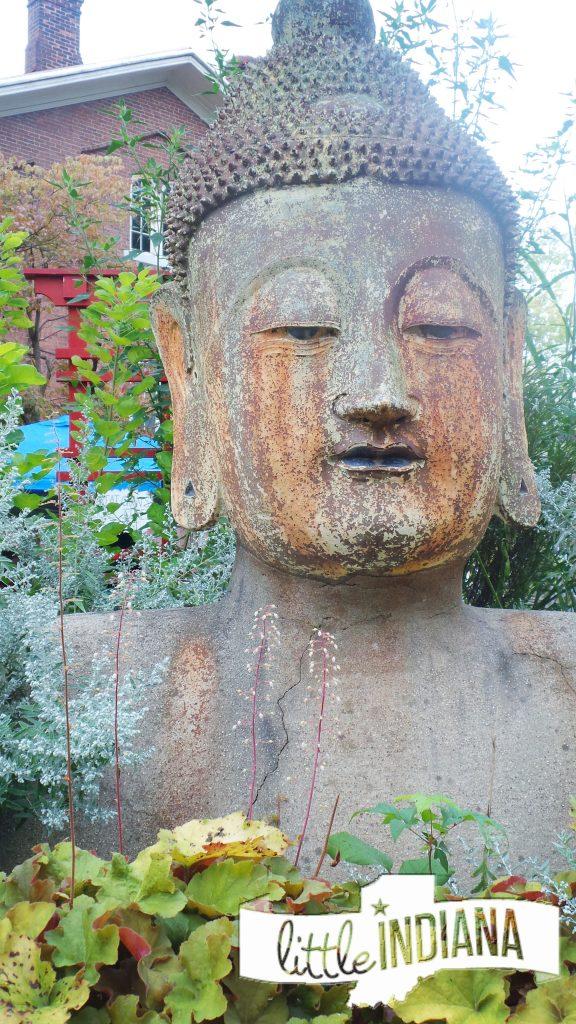 Buddha Head Wayne County Selfie Stop Trail