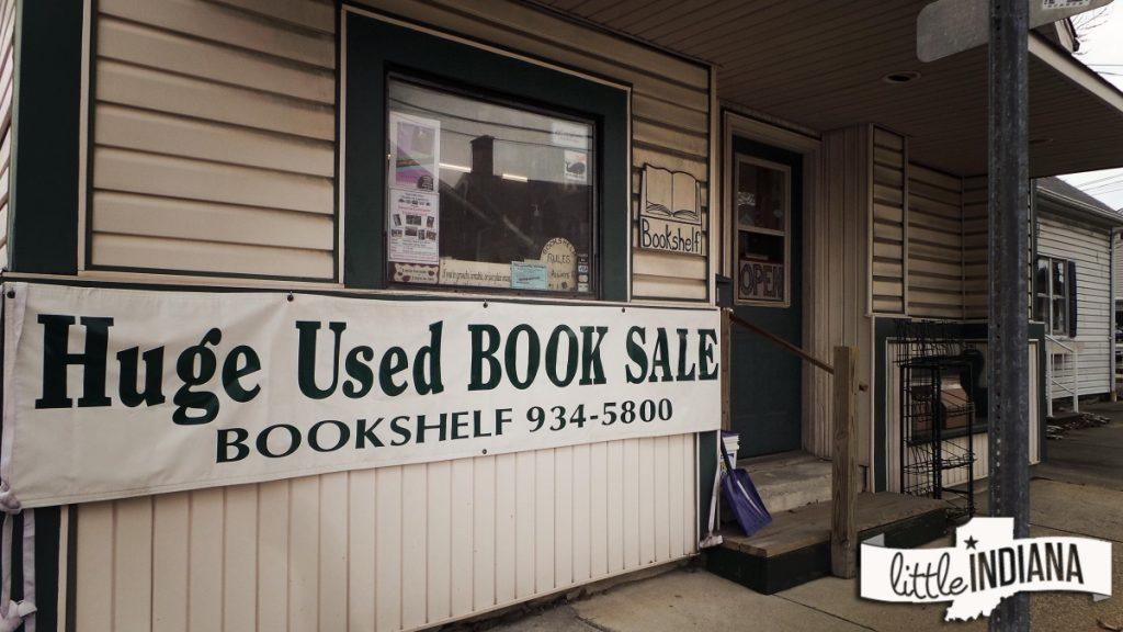Bookshelf of Batesville Indiana bookstore exterior image