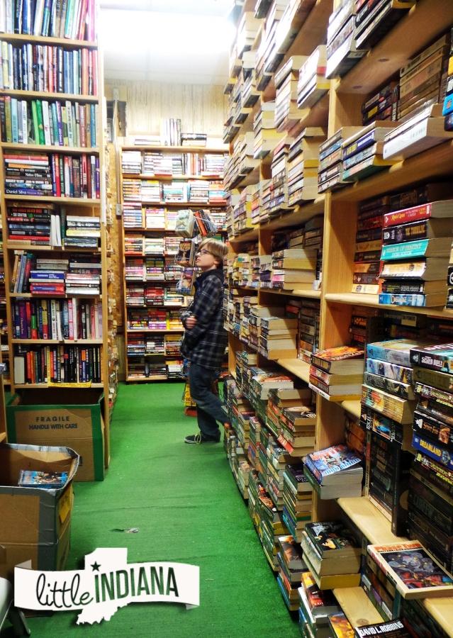 Bookshelf of Batesville Indiana new used books